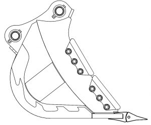 強化型スケルトンバケット X